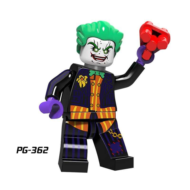 SinglesaleSuper Hero Blink Mar-Vell Figure Comic Spawn Joker Dr Fate Rorschach Green Lantern Building Blocks Sets Model Kits Toy