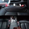 2PCS Leather Car Seat Leakproof Cover Leak Plug Seam Cushion Gap Pad for Audi A7 A8 A1 A3 A4 B5 B6 B8 A6 C5 C6 80 A5 Q3 S Line