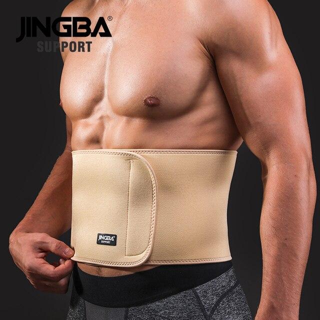 JINGBA SUPPORT Waist trimmer Slim fit Abdominal Waist sweat belt musculation abdominale Back Waist Support sport belt protective 1