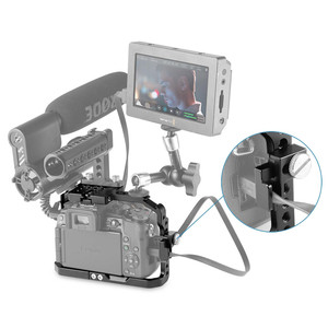 Image 5 - SmallRig G7 Cage for Panasonic Lumix DMC G7 Camera Cage with HDMI Cable Clamp+Cold Shoe+Mount Nato Rail    1779