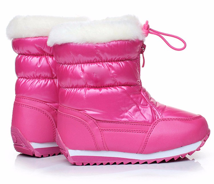 winter warm kid boots