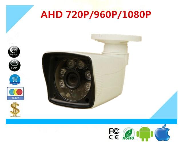 bilder für Luckertech AHD/XVI Stiftkamera Wasserdicht IP65 Outdoor 720 P 1080 P 6 Infrarot-leds NightVision UTC Control CCTV sicherheit