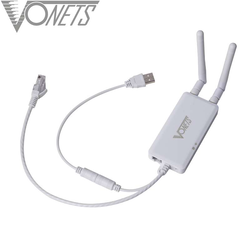 VONETS Mini Engineering Bridge Wifi Relay Routing Ap Amplification Network Port Expansion IoT Wireless To Cable
