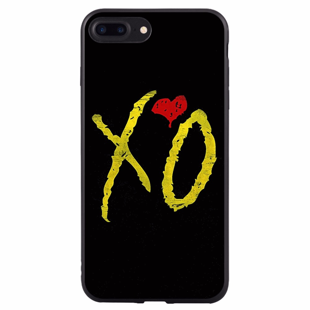 New The Weeknd Starboy Pop Singer Soft Silicone TPU Iphone X 8 8Plus 7 7Plus 6 6S 6Plus 6Splus 5 5S SE