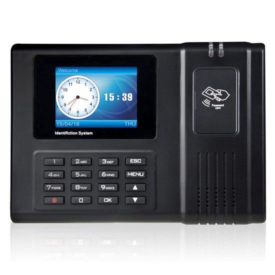 125KHZ CARD Attendance Time Clock+ID Card Reader+TCPIP WITH SOFTWARE NICE QUALITY GOOD PRICE OFFICE ATTENDANCE MACHINE IN STOCK high quality drawer locker mini size with id card reader