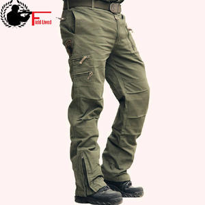 918a00e962c FIELD LIVED Male Jogger Cotton Trousers Men s Cargo Pants