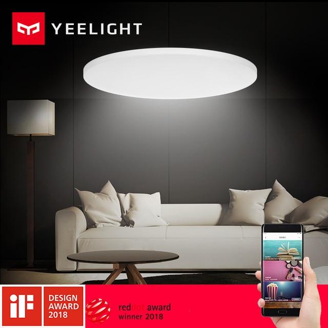 Original Xiaomi Yeelight Smart Ceiling Lights Lamp Remote Mi APP WIFI Bluetooth Control Smart LED Color