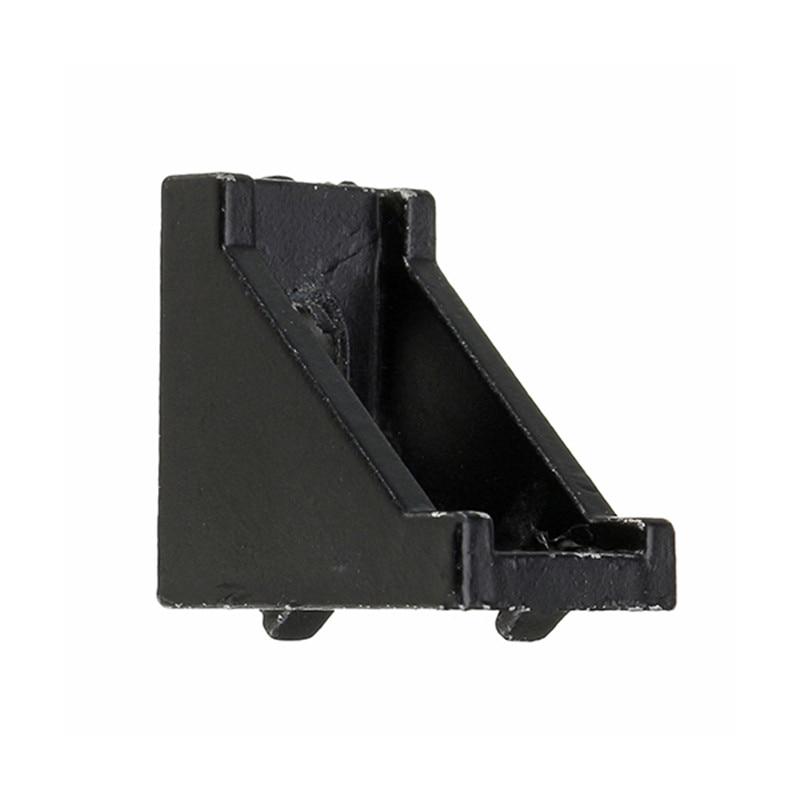 1pcs Aluminium Alloy Black Corner Bracket Angle Corner Joint Angle Bracket for 2020 Aluminum Profile Extrusion Frame New