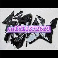 Bo 100%NEW Fairings FOR KAWASAKI NINJA ZX10R 04 05 silver black ZX 10R 04 05 ZX 10R 10 R 2004 2005 ABS fairing kits