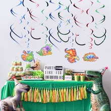 Dinosaur Party Confetti Decorations Shimmering Birthday Baby Shower Wedding Cartoon Glittering Decor Supplies