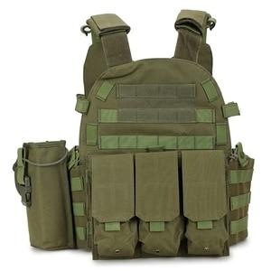 Image 3 - הסוואה מרובה Molle ניילון מודולרי טקטי אפוד וסטים חיצוני ציד 6094 וסטים צבאי גברים בגדי צבא אפוד