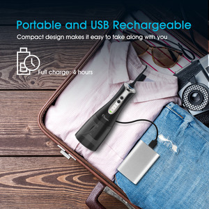 Image 5 - Portable Dental Flosser Cordless Oral Irrigator With Travel Case 300ML Rechargeable Battery Water Flosser Teeth