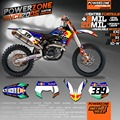 Customized Team Graphics  Backgrounds Decals 3M  Stickers For KTM 2007 2008 2009 2010 2011-17 SX F E XC F W SXF125  530 003 RB