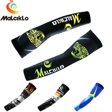 Malciklo Unisex Sports Arm Sleeve Sun UV Protection Running Bike Sleeves Arms Summer Cycling Arm Warmers Mangas Para Brazo цены онлайн