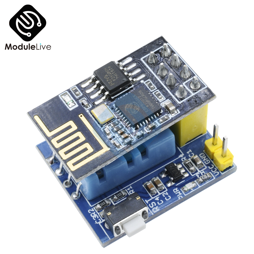 Wifi ESP8266 ESP-01 ESP-01S DHT11 Temperature Humidity Sensor Meter Module Wireless Thermometer For IOT Smart Home