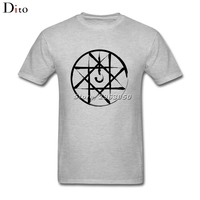Fullmetal Alchemist Sello Personalizado de Manga Corta T-shirt Hombres Hombres Casuales de Fiesta XXXL Camisetas