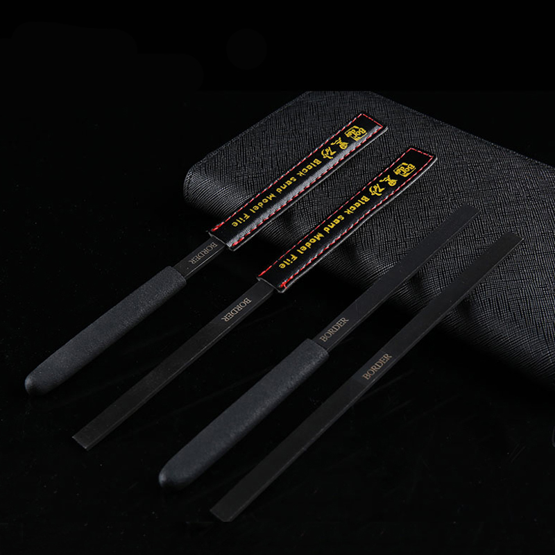 Military Gundam GK Model Black Sand Model File With Four Kinds Of Matting Hobby Grinding Tools