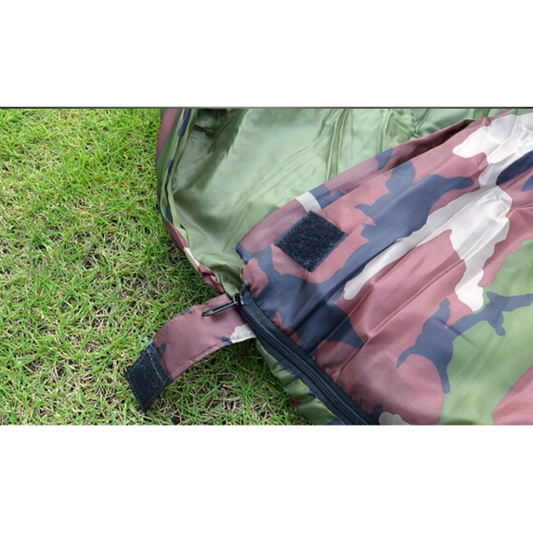New-Sale-High-quality-Cotton-Camping-sleeping-bag-15-5degree-envelope-style-army-or-Military-or (4)