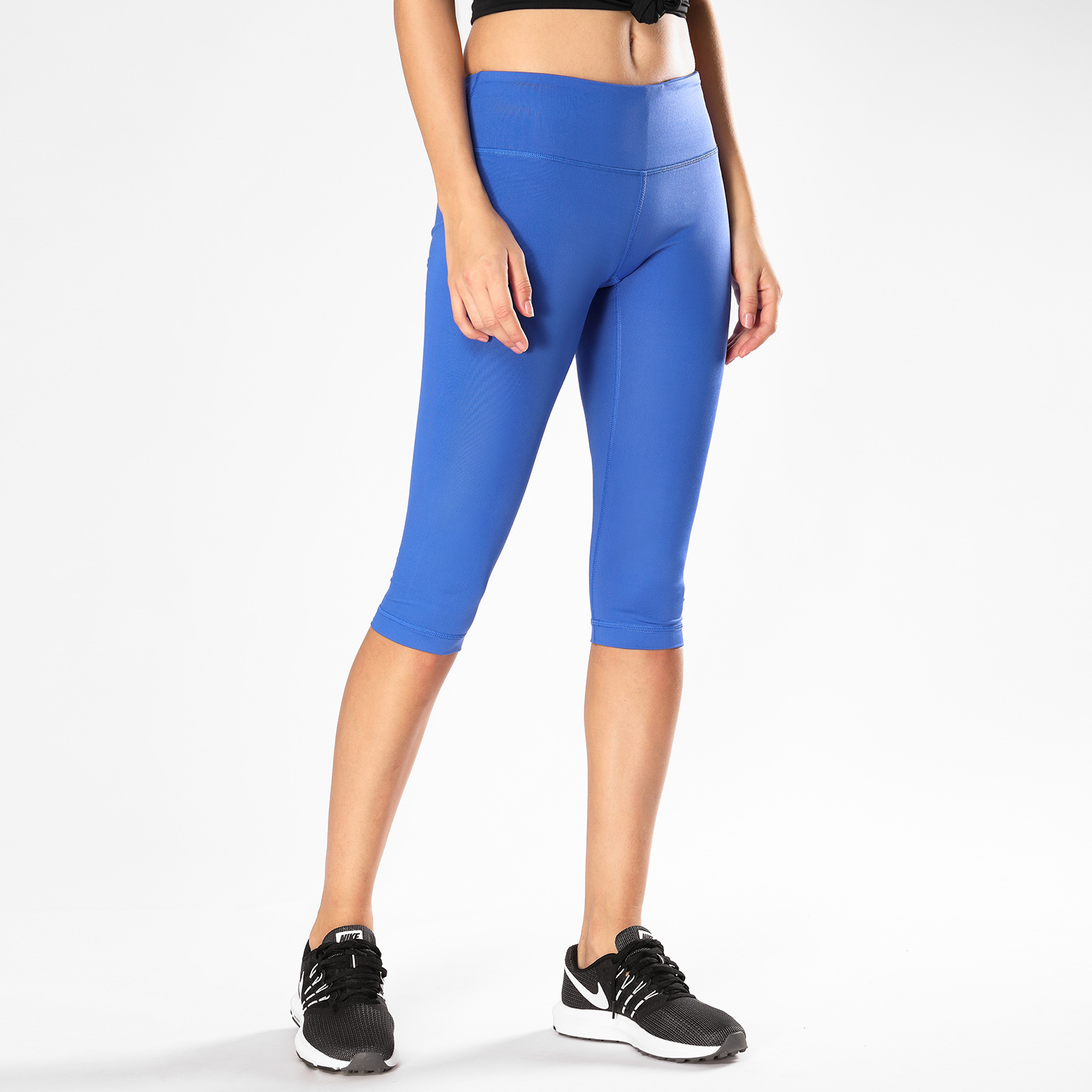 CRZ YOGA Women's Workout Tights with Pockets Running Capris Yoga Pants