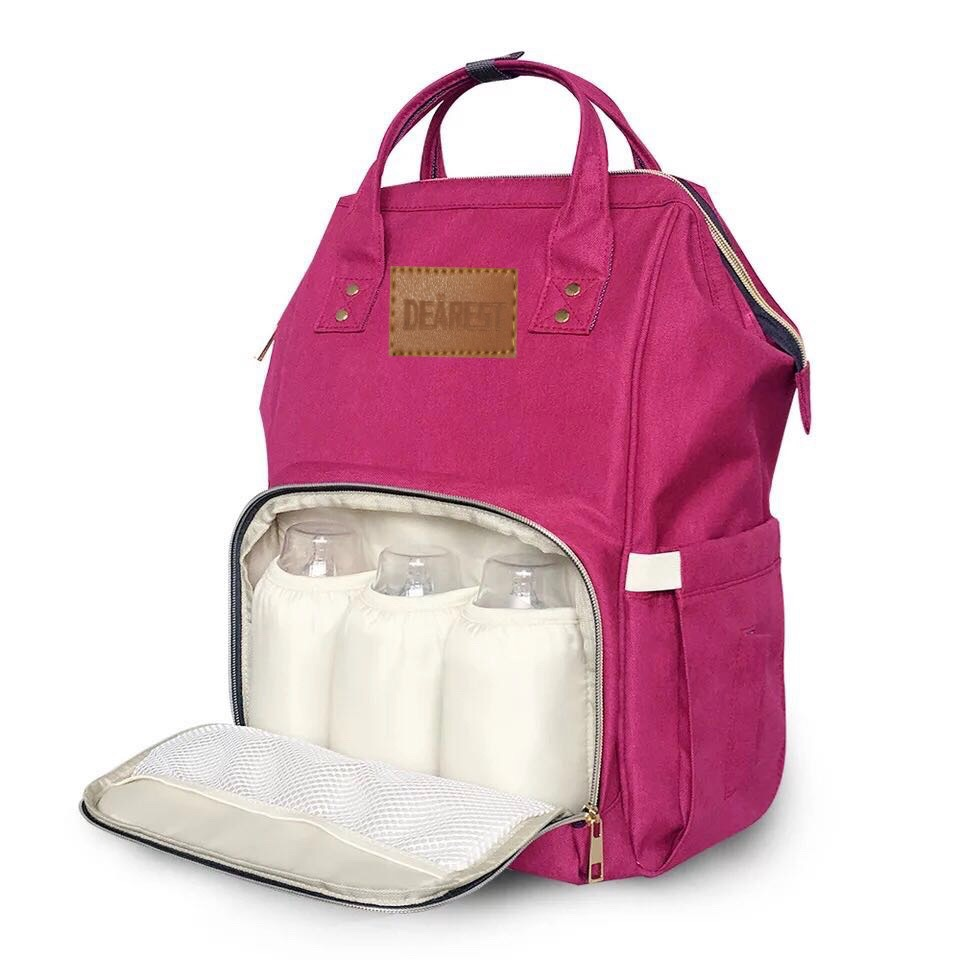 Bolsa de pañales de bebé momia maternidad bebé bolsa de pañales - Pañales y entrenamiento para ir al baño - foto 5