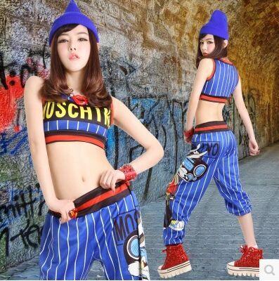 Hip Hop Dance Clothes Dynamic Movement Style Street Dance