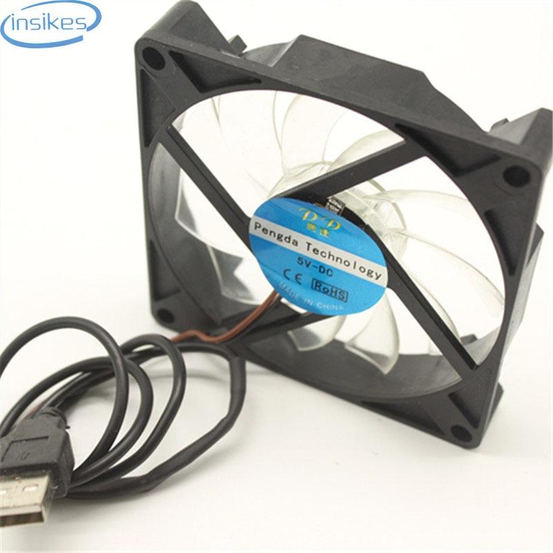 Suurus ventilaator 7015 70x70x15MM 5V roheline tuli 7CM vaikne jahutusventilaator USB-pistikuga CUP jahuti mitmeotstarbeliseks kasutamiseks