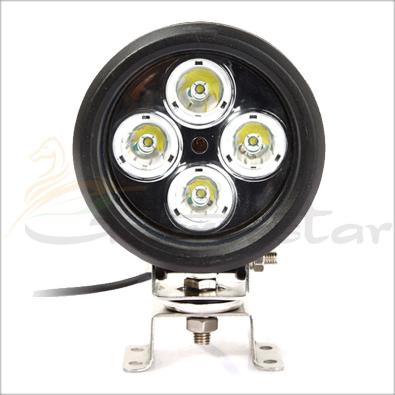 ФОТО 5Inch 40W SPOT 3500 Lumens LED Work Auxiliary Light for Polaris Razor RZR 4x4 Off Road John Deer Tractor Boat Can-Am Commander
