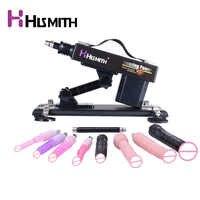 Machine automatique de sexe de vibrateur de Machine de sexe d'hismith pour des femmes avec des jouets de sexe de 9 pièces