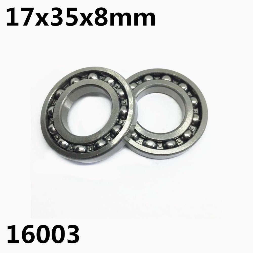 1PCS 16003ZZ 16003-OPEN 17x35x8 Mm Deep Groove Ball Bearing 16003