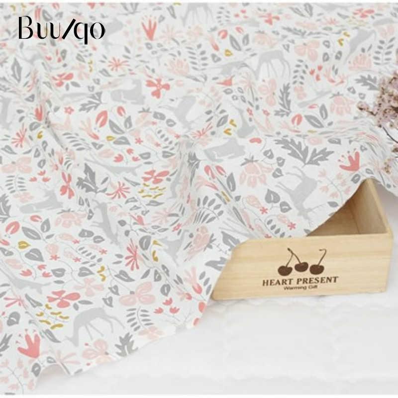 50*40 centímetros Crianças de Tecido de Sarja de Algodão Tecido Patchwork Pano DIY Material de Costura Quilting Trimestres de Gordura Para O Bebê & criança