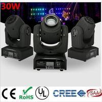 30W Mini Led Spot Moving Head Light Mini Moving Head Light DMX Controller Dj 8 Gobos