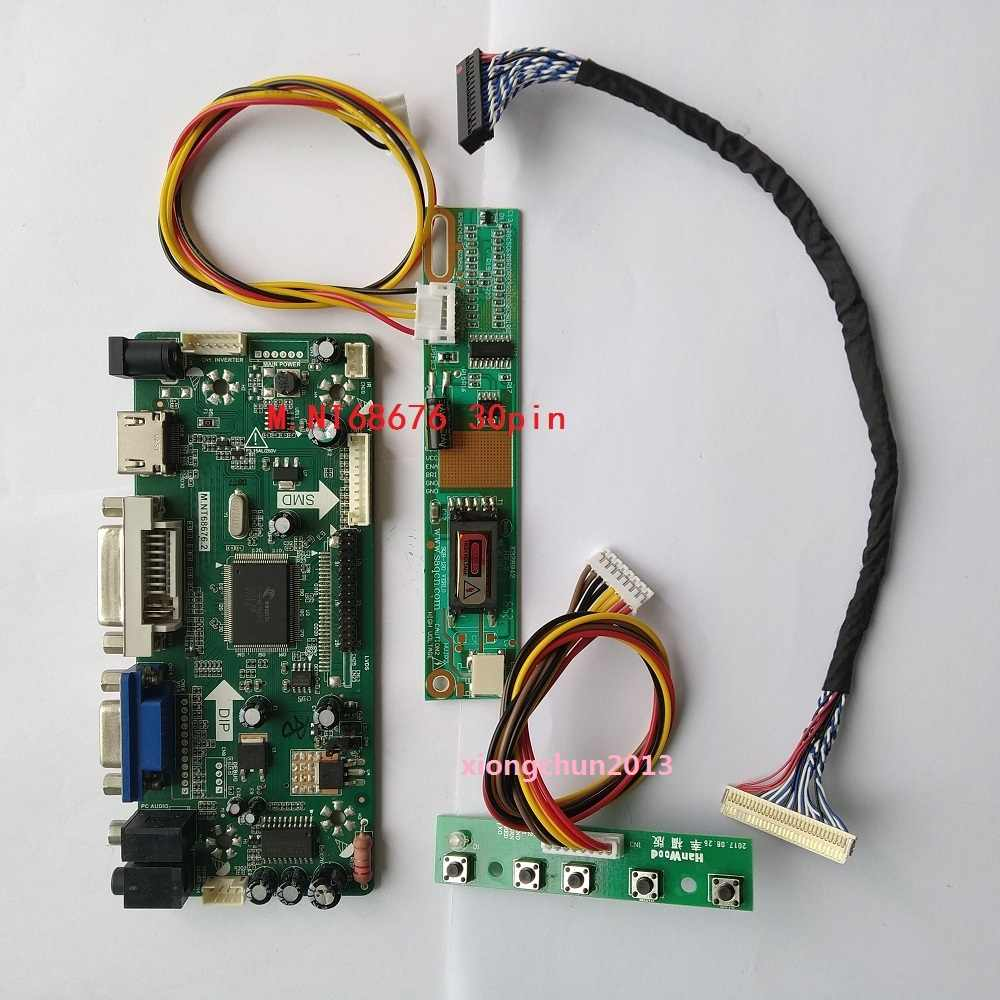 NT68676 (Hdmi + Dvi + Vga) 2019 Voor 30pin B154EW02 1280X800 Screen Monitor Lcd Panel Controller Driver Board Display