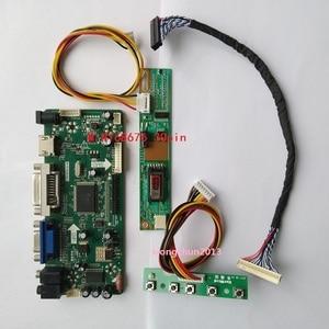 Image 1 - Monitor de pantalla LCD para panel de control, placa controladora, NT68676(HDMI + DVI + VGA) 2019 para 30pin B154EW02 1280X800