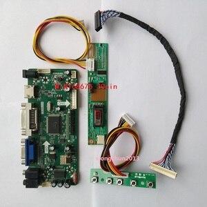 Image 1 - NT68676 (hdmi + dvi + vga) 2019 のための 30pin B154EW02 1280X800 画面モニター液晶パネルコントローラドライバボードディスプレイ