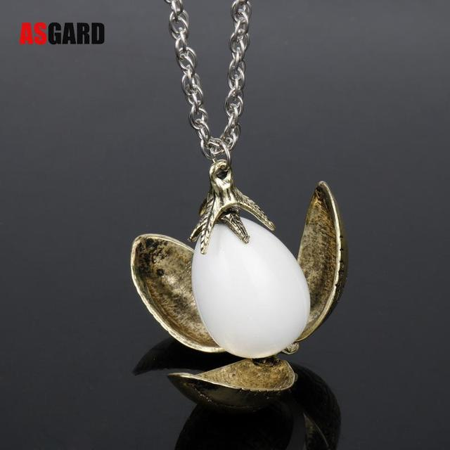 Harry Fire Dragon Egg Potter Pendant Goblet Of Fire Rotation Activity Unisex Magic Open Style Gift Vintage Necklace Wholesale