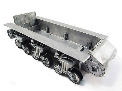Mato 1/16 RC Tank Sherman Metal Chassis With Suspension And Road Wheels MT188 mato sherman tracks 1 16 1 16 t74 metal tracks