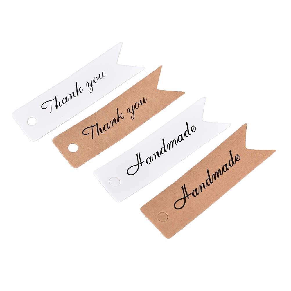 """حار 100 قطعة """"شكرا لك"""" """"اليدوية"""" ديكور Diy بها بنفسك مذكرات ملصق سكرابوكينغ لزجة القرطاسية اللوازم المدرسية"""