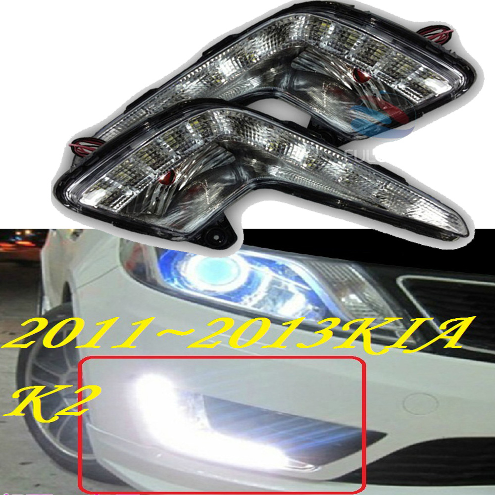 ФОТО 2011~2013 KIA K2 daytime light,kia rio,Free ship to your door!LED,KIA k2 fog light,kia ceed,2ps/set;kia k3;kia cerato