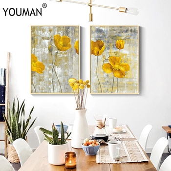 European Frameless Poster Wallpaper Oil painting Modern 3D Canvas Painting Art Print Wall Picture  Childrens Room