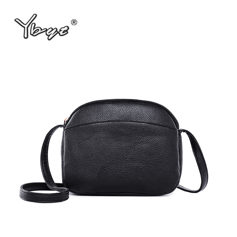 YBYT brand 2018 new vintage casual shoulder messenger crossbody bags simple Mini women shopping bag PU Leather Female packYBYT brand 2018 new vintage casual shoulder messenger crossbody bags simple Mini women shopping bag PU Leather Female pack