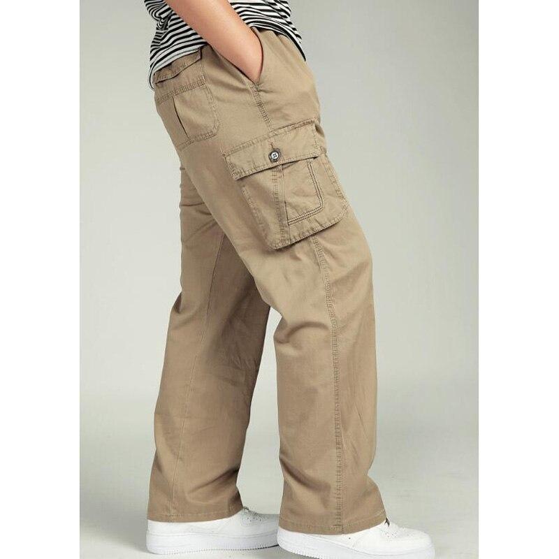 7f86931078 Men's Pants Casual Pants Loose Men's Long Pants High Waits Man Trousers  Elastic Waist Bottoms size:XL-6XL ~ Super Sale June 2019