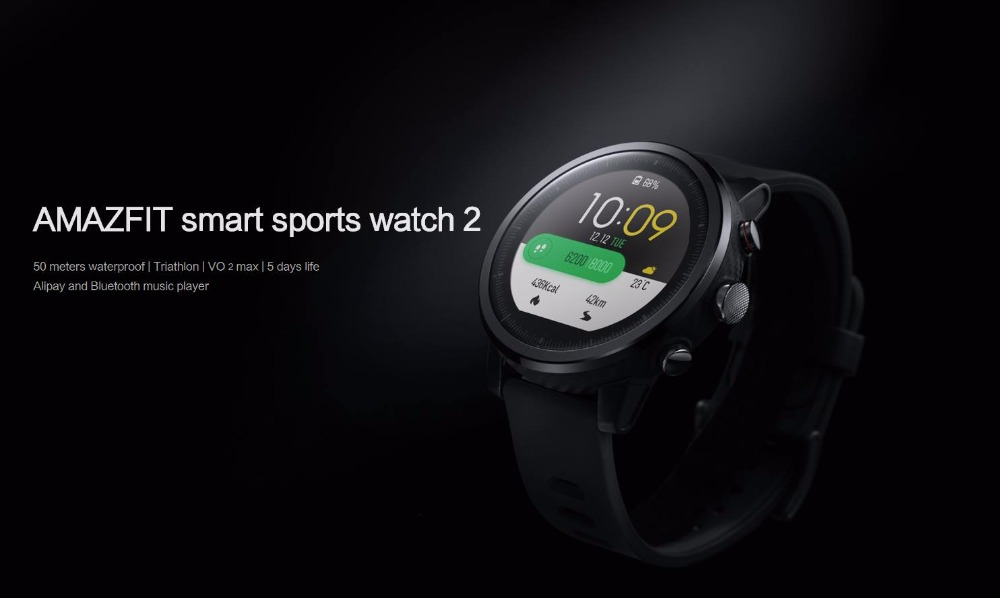 ORIGINAL XIAOMI HUAMI AMAZFIT STRATOS SMART SPORTS WATCH 2 VERSION 2 2