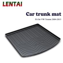 EALEN 1PC rear trunk Cargo mat For VW Touran 2004 2005 2006 2007 2008 2009 2010 2011 2012 2013 2014 2015 Anti-slip Accessories цена 2017