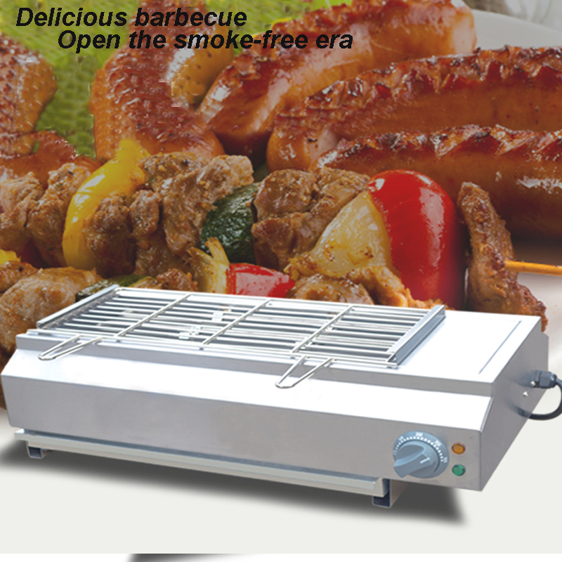 Smoke-Free BBQ Grill Electric Barbecue Grill Machine Smokeless Oven Commercial BBQ Toasting Machine FY-Q70 linea cinque повседневные брюки
