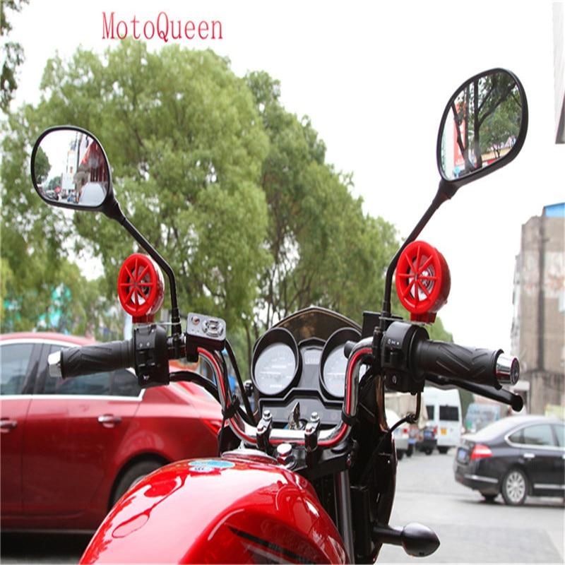 MotoQueen 35w * 4 motor kenderaan speaker kotoran basikal mp3 pemain - Aksesori dan bahagian-bahagian motosikal - Foto 5
