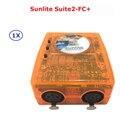 Classico Virtual Dj Della Discoteca Controller USB DMX Interface Dj Controller Sunlite Suite2-FC + Computer di Controller di Facile Da Usare