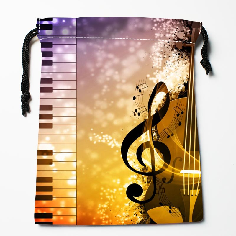 Custom Music Bags Custom Printed Gift Bags More Size 27x35cm Compression Type Bags