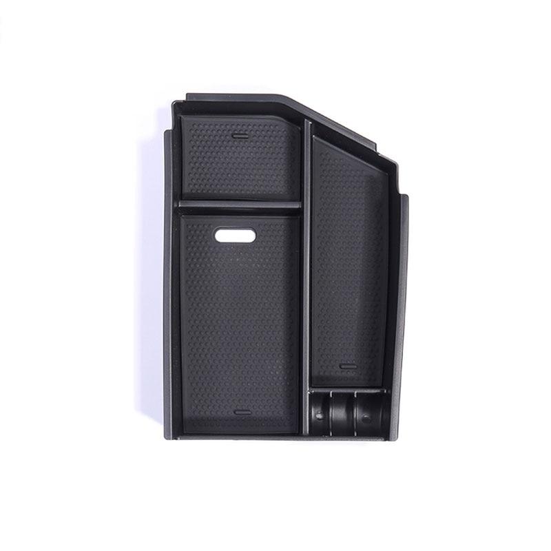 Para Mercedes Benz ML GL sobre las GLS clase C292 W166 compartimento de almacenamiento de apoyabrazos Central contenedor bandeja organizador de accesorios de coche-estilo de LHD