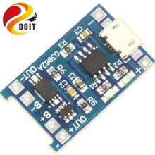 DOIT 5V Micro USB 1A 18650 Lithium Battery Charging Board Protection Charger Module for Arduino Diy Kit(China)