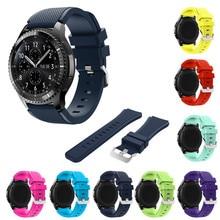 joyozy 22mm Sports Silicone Watch Bands Strap for Samsung Galaxy Gear S3 Classic SM R770 S3